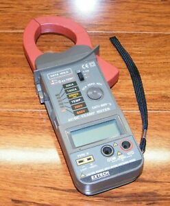 Extech Instruments 600v Ac Dc Clamp Meter W Wrist Strap Only n011886