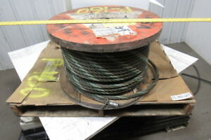 3 4 Wire Rope steel Cable 6x36 Const Aprox 350 Bulk Sling Choker Winch Line