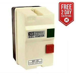 Big Horn 18825 1 phase 220 240 volt 5 hp 22 34 amp Magnetic Switch Ul Approved