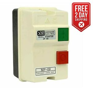Big Horn 18833 3 phase 220 240 volt 3 hp 8 12 amp Magnetic Switch Ul Approved