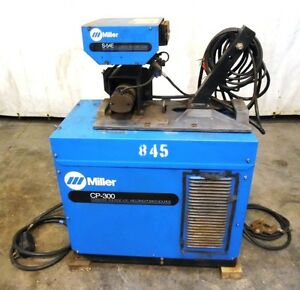 Miller Constant Voltage Dc Welding Power Source Cp 300 Mig Welder W S 54e