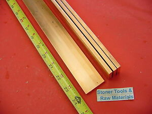 4 Pieces 1 4 x 1 1 2 C110 Copper Bar 24 Long Solid Flat 25 Bus Bar Stock H02