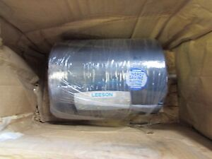 Leeson C6t11db3c 1 3hp 208 230 460v 1140 950rpm Electric Motor 5 8 shaft Nib