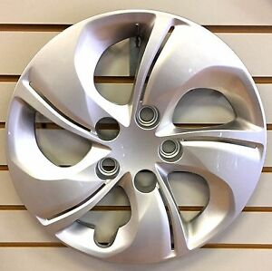 New 15 Silver Bolt On Hubcap Wheelcover 2013 2015 Honda Civic Replacement