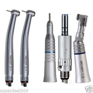 Dental Low Slow Speed Handpiece Kit 2pc High Speed Turbine Handpiece Dentist