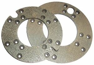 Brake Disc Lining Kit Allis Chalmers D15 D17 170 175 180 185 70276914 70237421