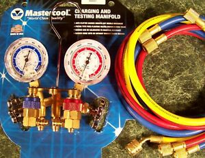 Ac Manifold Gauge Set For R12 And R134a By Mastercool Usa Made Air Conditioner