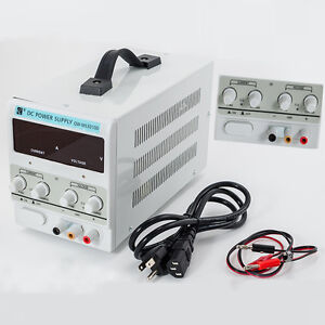 5a 30v Dc Power Supply Adjustable Dual Digital Variable Precision Lab Grade
