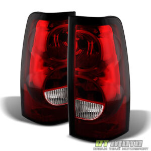 2003 2006 Chevy Silverado Replacement Tail Lights Brake Lamps Left right 03 06