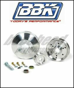 Bbk Performance 1555 Underdrive Pulley Kit 1996 2001 Ford Mustang Gt Cobra 4 6l