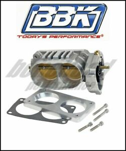 Bbk Performance 1764 Twin 65mm Throttle Body 07 14 Ford Mustang Gt500 5 4l 5 8l