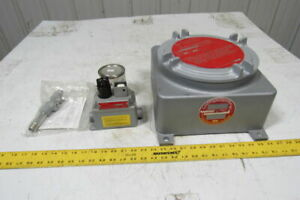 Dual lite 12xpb 75p 12vdc Self Contained Explosion Proof Emergency Battery Unit