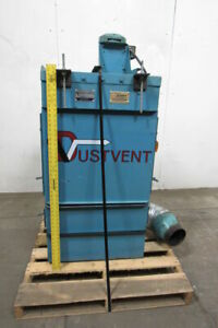 Dustvent 10mc 1 5 Hp Dust Collector 208 230 460v Motor 8 Dia Inlet Tested