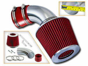 Sport Air Intake Sytem Red Dry Filter For 01 03 Bmw 525i 530i 2 5l 3 0l E39