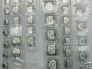 Fcb 105 Pcs Electrolytic Capacitors Radial Smd Smt Assorted Kit Usa