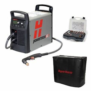Hypertherm Powermax 65 Plasma Cutter W 25 Hand Torch Pkg 083270