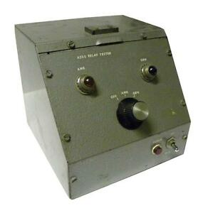 Custom A235 Relay Tester Te1986 Sold As Is