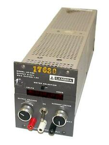 Lambda Power Supply Output 0 40v 1 8a Model Lq 522 Sold As Is