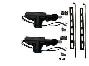 2 Universal Power Door Lock Actuators Compatible W Keyless Entry Alarm Pair Usa