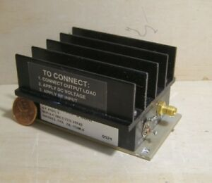 Mini circuits Amplifier Model zhl 1724mln 1 7 2 4ghz 20db
