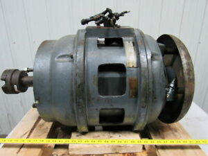 Westinghouse 20hp 220 440v Type Gs Electric Motor Style 5n1497 364 y Frame
