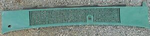 1967 67 Ford Fairlane Hood Windshield Wiper Grill Molding Oem