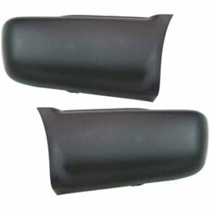 Rear Right Left Side New Bumper Face Bar Ends Set Of 2 Chevy Lh