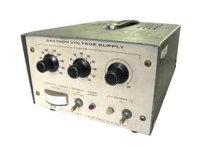 Keithley High Voltage Power Supply 200 2200 Vdc 10 Ma Model 244