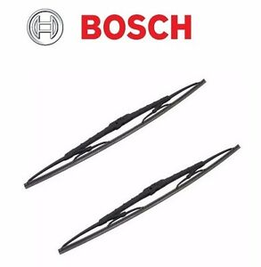 2 Front Chevrolet Express 1500 Ford F 150 Windshield Wiper Blade Bosch 40522