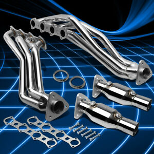 Fit Ford F150 04 08 5 4l V8 Supercharged Stainless Steel Header Manifold Exhaust