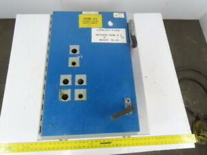 Hoffman A30sa2208lp Type 12 Sa Disconnect Cabinet Enclosure W Backplate