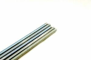 5 Threaded Rod 3 4 10 X 36 A307 Zinc Plated All thread 3 4 X 3 Ft