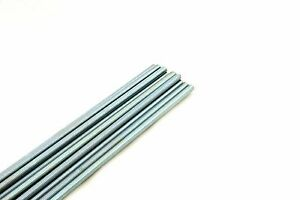 12 Threaded Rod 1 2 13 X 36 A307 Zinc Plated All thread 1 2 X 3 Ft