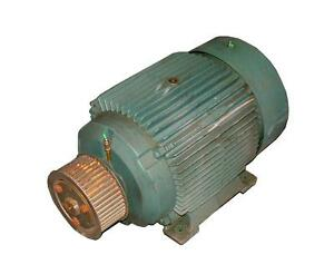 Reliance Electric 3 phase Ac Motor 50 Hp Model P32g312g g02 n4mn7096 2 Avail