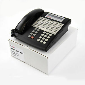Partner 34d Euro Series 1 Black Avaya 3158 08 Phone Bulk