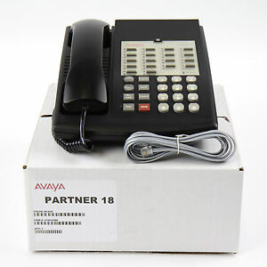 Partner 18 Euro Series 1 Black Avaya Phone Bulk