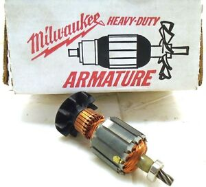 Milwaukee Oem Armature For 0375 1 And 0380 1 Right Angle Drill Part 16 10 0330