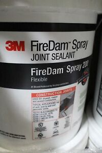 3m Firedam Spray 200 Gray 5 Gallon Pails