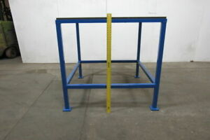 48 x48 x47 High Steel Fabrication Layout Inspection Work Table bench 2 Top