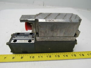 Bosch Rexroth 0 811 404 644 Servo Solenoid Valve W on board Electronics