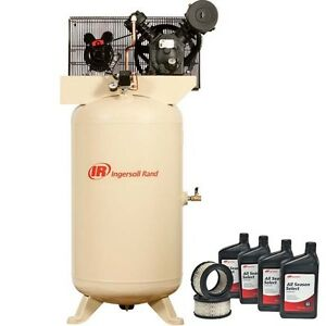 Air Compressor Start Kit 80 Gallon 200v 5 Hp 175 Psi 3 Ph 14 7 Cfm