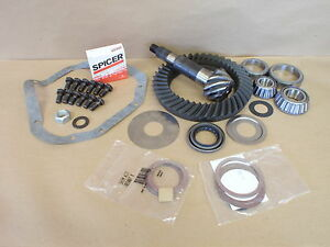 Ring And Pinion 4 56 Ratio Dana 60 Standard Cut Rotation New Oem Spicer Kit