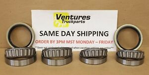 Wheel Bearing Kit Chevy 4x4 Dana 44 Gm 10 Bolt Front Axle Timken Or Spicer