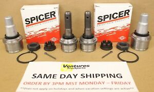 Ball Joint Kit Upper And Lower Ford Super Duty Dana 50 60 Front 4x4 F250 98 04