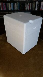 Styrofoam Container Insulated Shipping Cooler Box 11 X 9 X 12 Outer