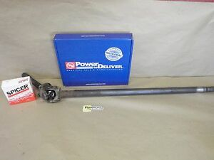 Axle Shaft With New U Joint 28 Spline Long Side Left Hand Front Gm 10 Bolt 8 5
