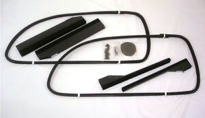 1937 1938 1939 Ford Tudor Sedan Club Coupe Front Window Channel Kit Both Doors