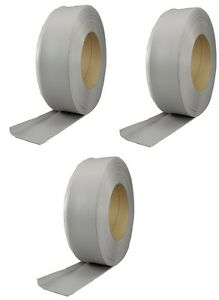3 M D 75499 4 X 120 Silver Gray Vinyl Wall Base Cove Moulding In Bulk Roll