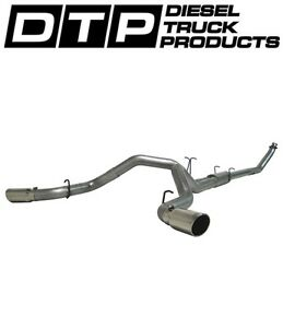 4 Mbrp Dual Exhaust Fits Dodge Cummins Diesel 5 9l 94 02 S6102al