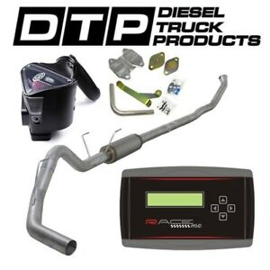 Raceme Jr 4 Exhaust Dpf Delete For Dodge Cummins Diesel 6 7 07 12 Egr S B